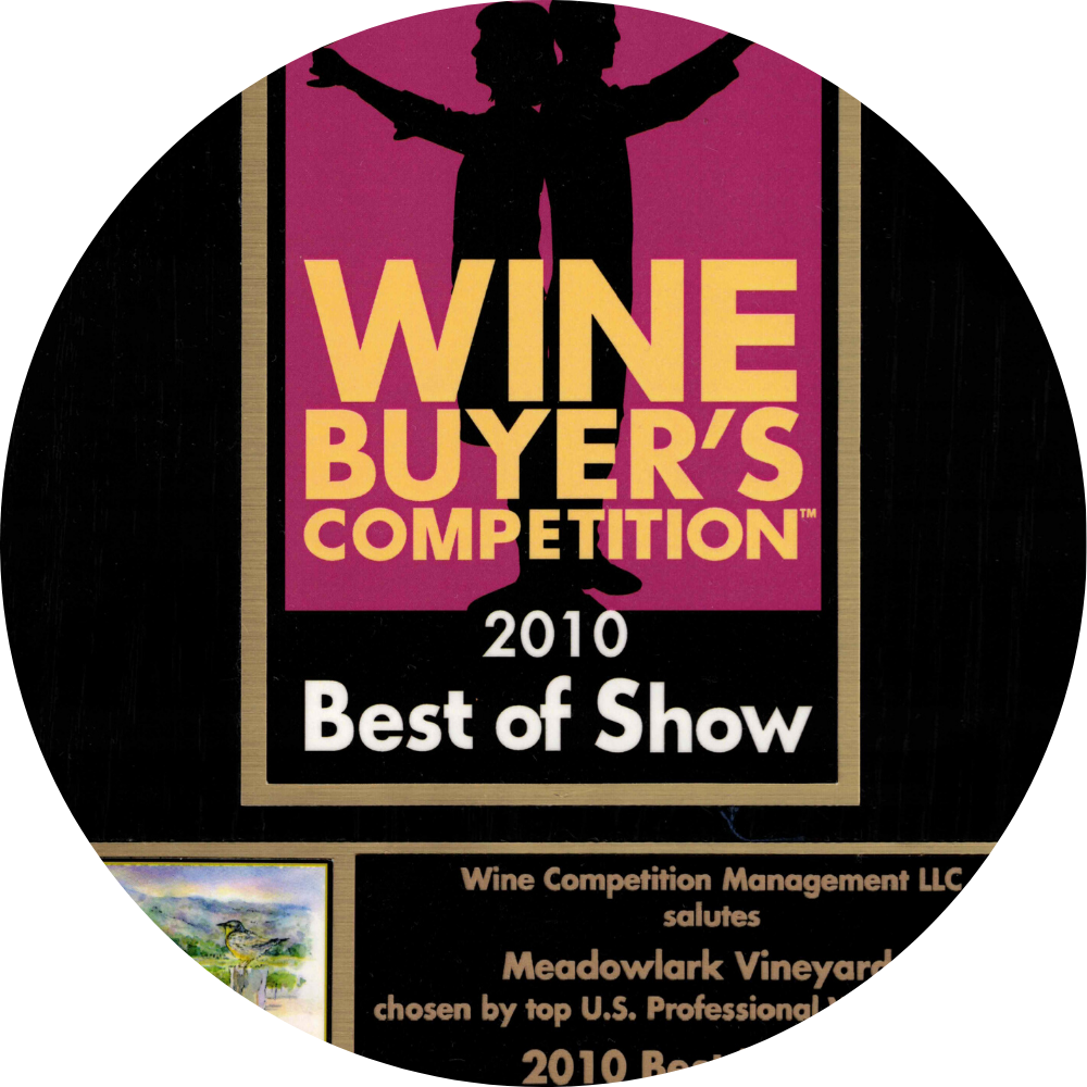Prof wine buyers competition medal